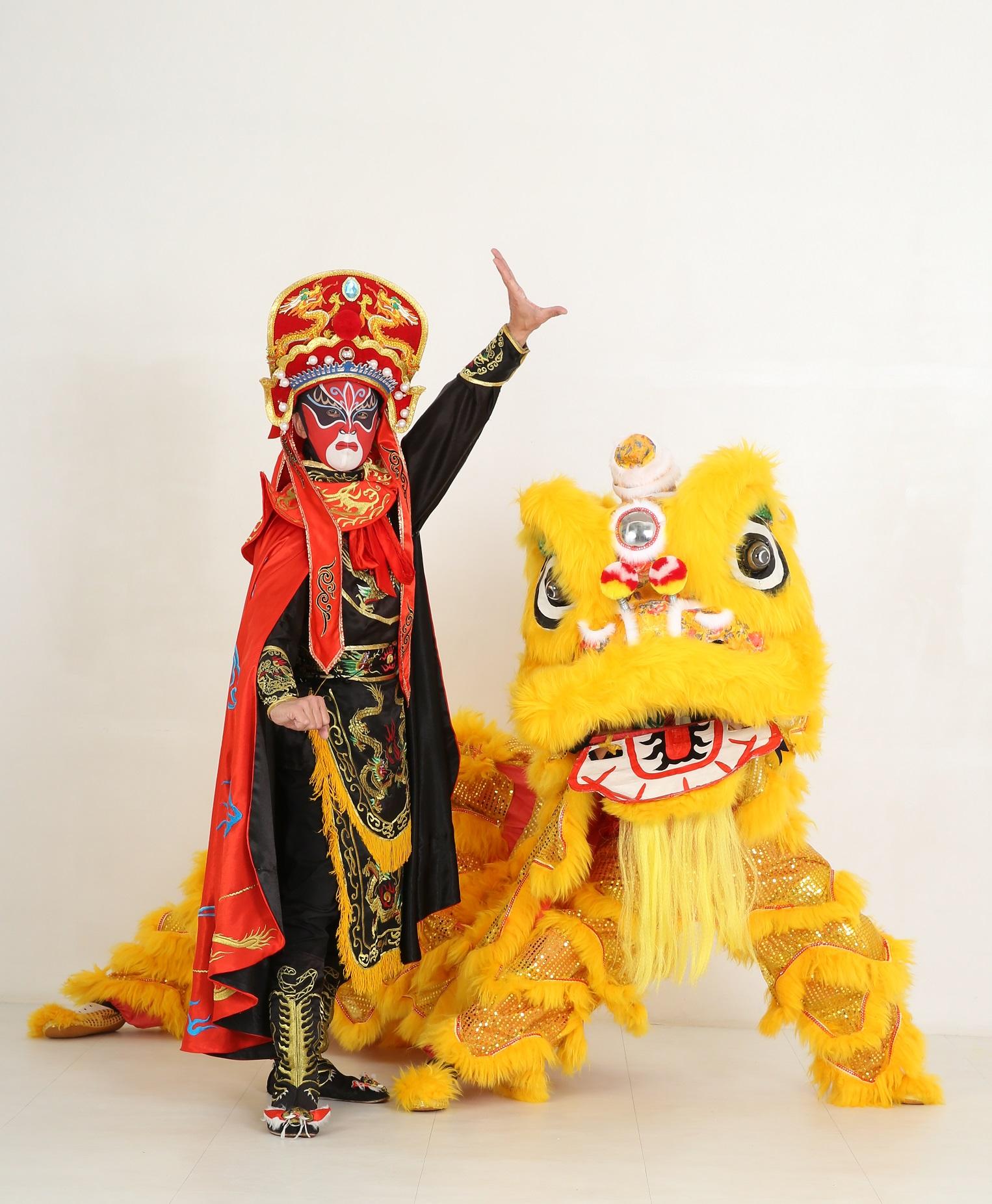 中国伝統芸能 変面