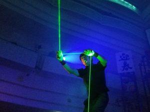 沖縄レーザーマン(Laser Man)